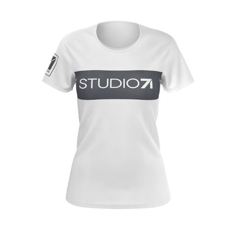 S71 Women's Gray Block T-Shirt