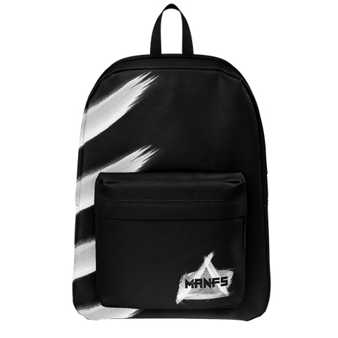 MIKEY MANFS PAINTED STRIPE BACKPACK