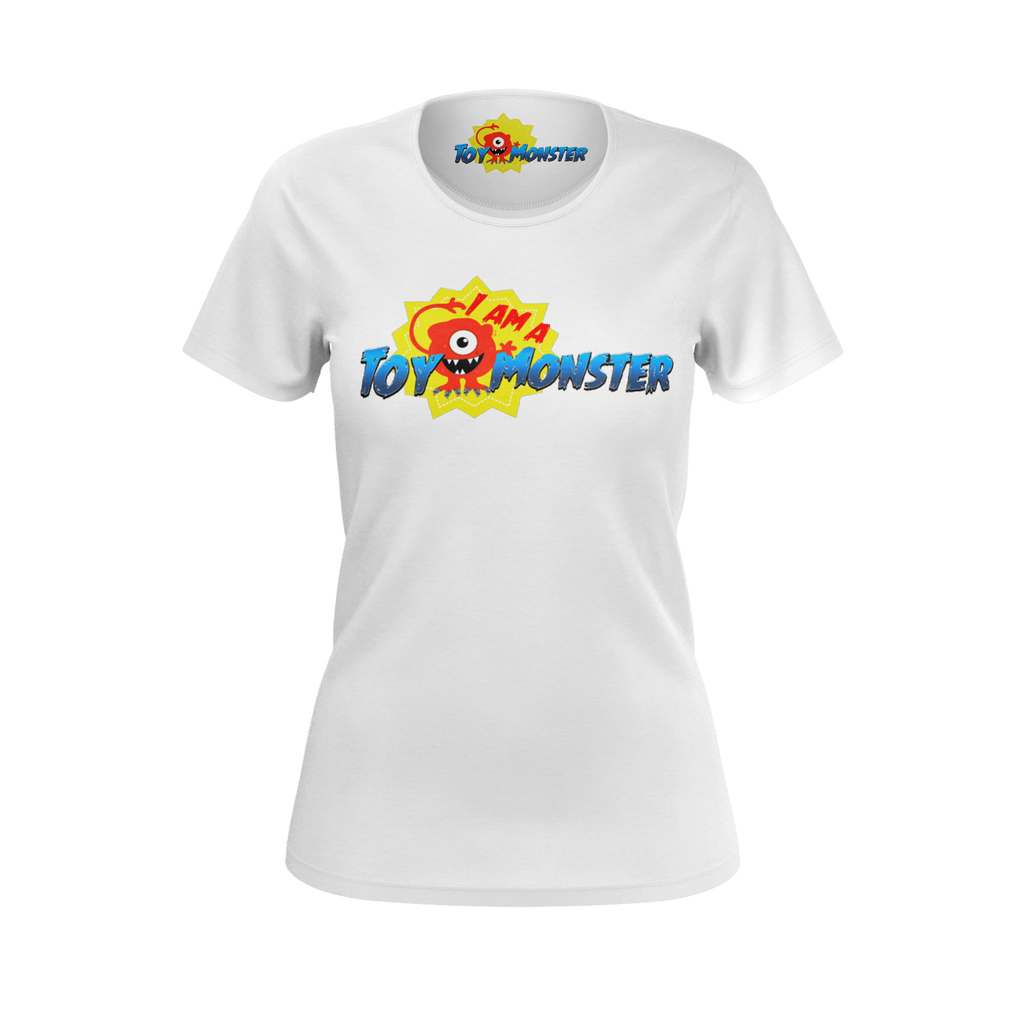 Toy Monster White T-Shirt (Women's)