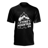 Stone Mountain Black Logo T-shirt