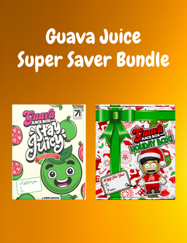 Guava Juice Super Saver Bundle -- GJ Stay Juicy Box + GJ Holiday Box