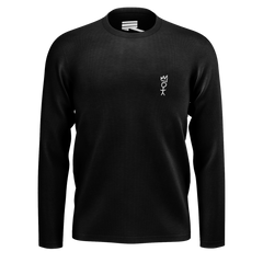 DEREK MINOR REFLECT GREATNESS BLACK LONG SLEEVED TSHIRT
