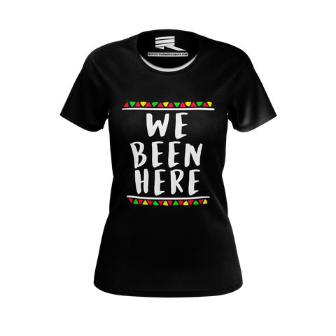 CANON WE BEEN HERE PINK TSHIRT (WOMEN'S FIT)