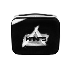 Mikey Manfs Painted Stripe Lunch Box