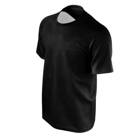 Deraj Black Love Back T-Shirt