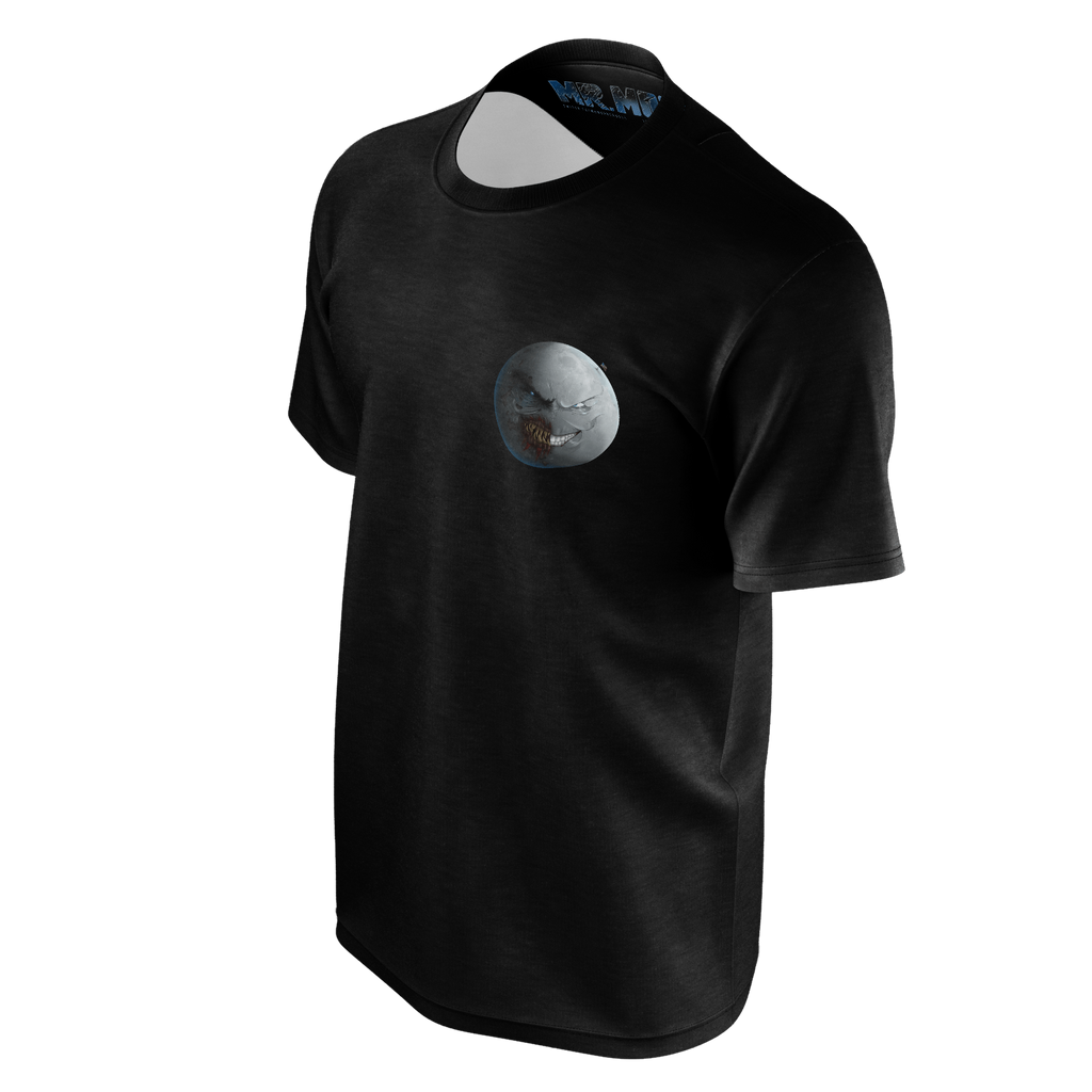 Mr. Moon - Black Logo T-Shirt