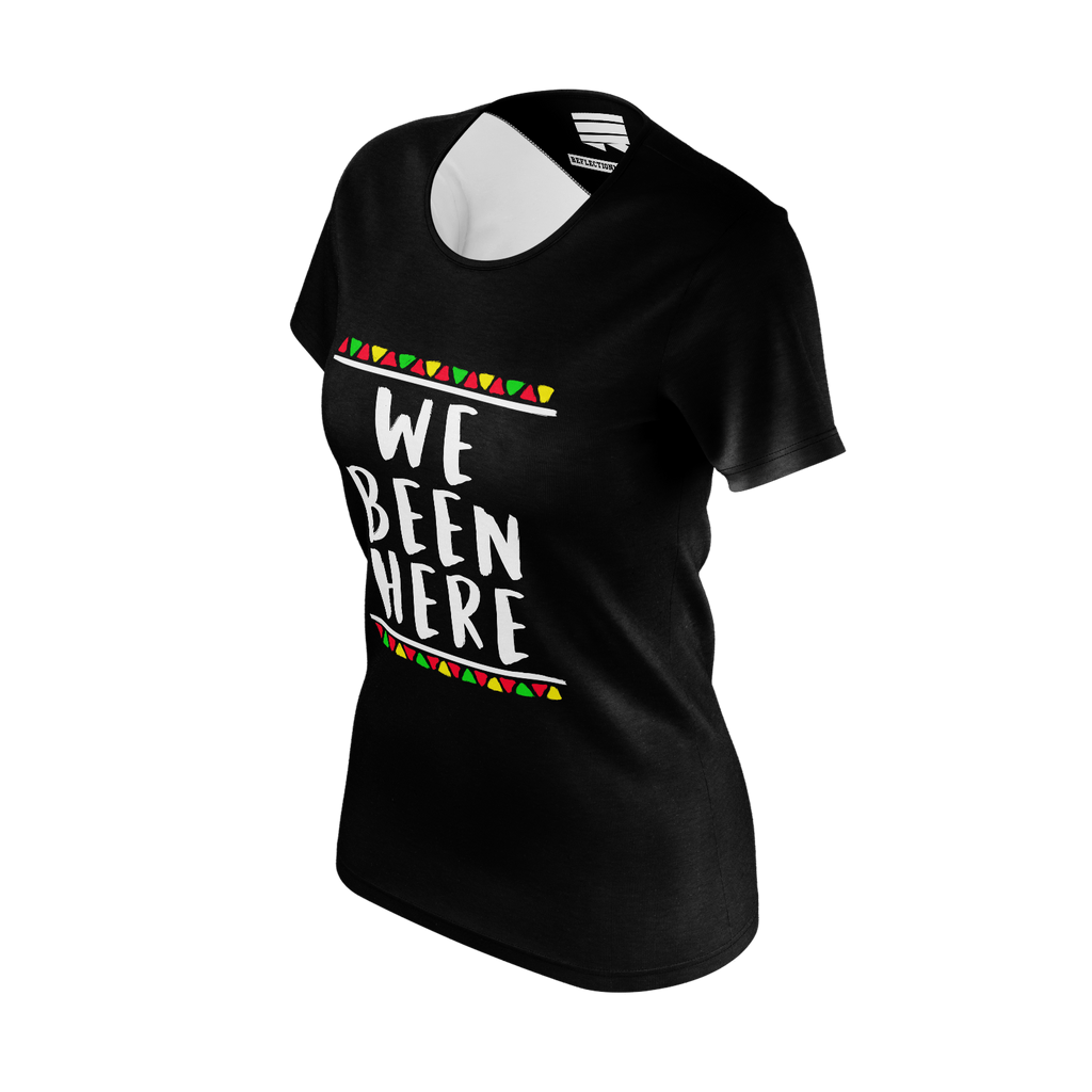 CANON WE BEEN HERE BLACK TSHIRT (WOMEN'S FIT)
