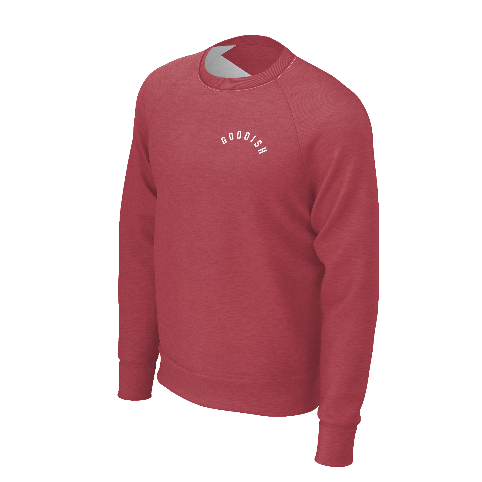 Deraj Goodish Red Crewneck