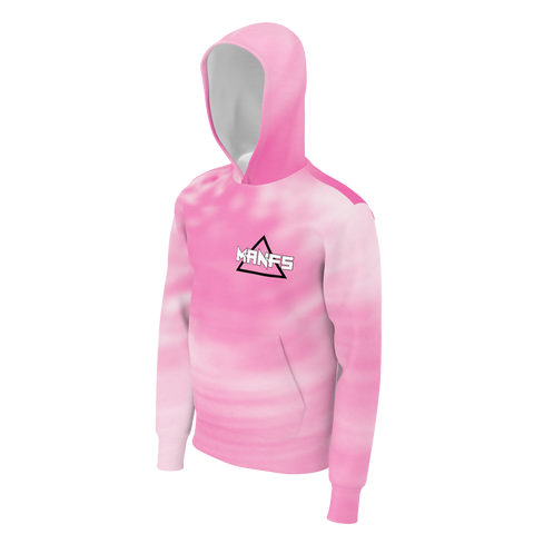 MIKEY MANFS PINK HOODIE