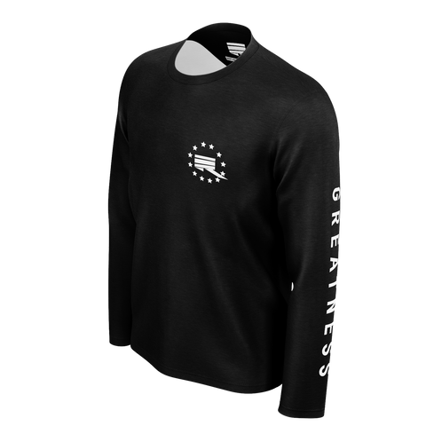 RMG BLACK STAR LONG SLEEVED TSHIRT