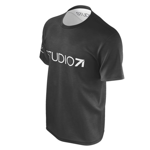 STUDIO71 MEN'S BASIC GREY TEE