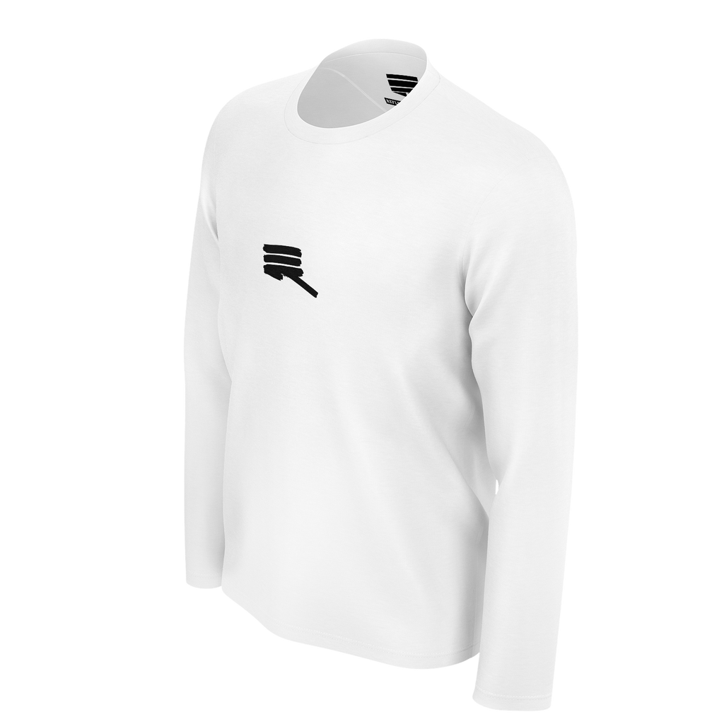 RMG REFLECT GREATNESS WHITE LONG SLEEVED TSHIRT