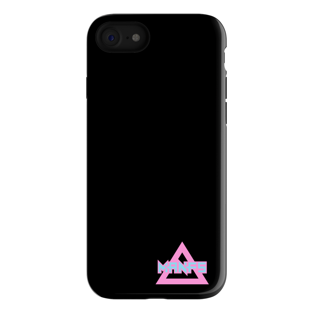 Mikey Manfs Black iPhone 7 Phone Case