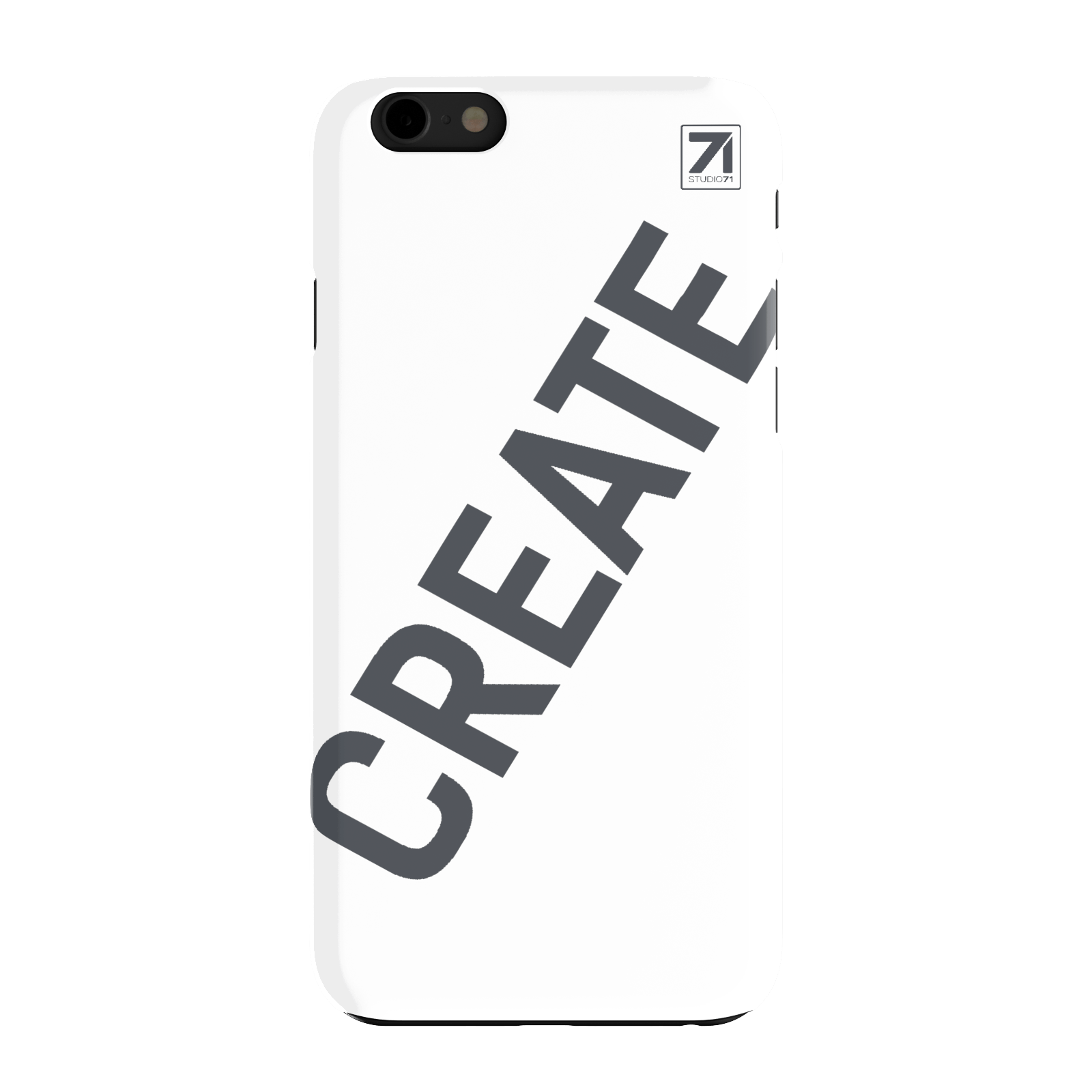 STUDIO71 CREATE IPHONE 6 CASE WHITE