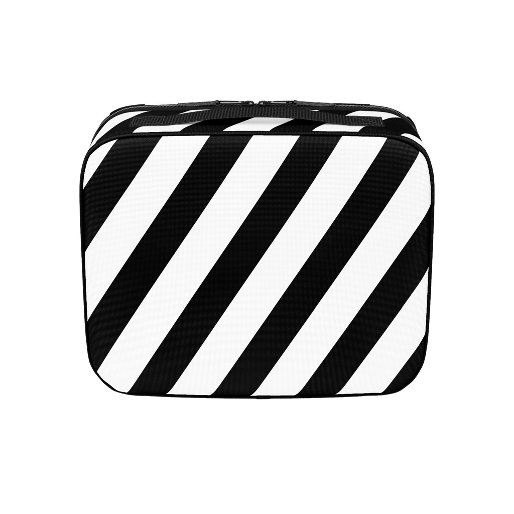 Mikey Manfs Diagonal Stripe Lunchbox
