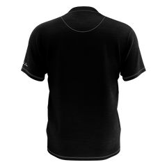 TAYLOR NICOLE DEAN BLACK CHEESE POCKET T-SHIRT