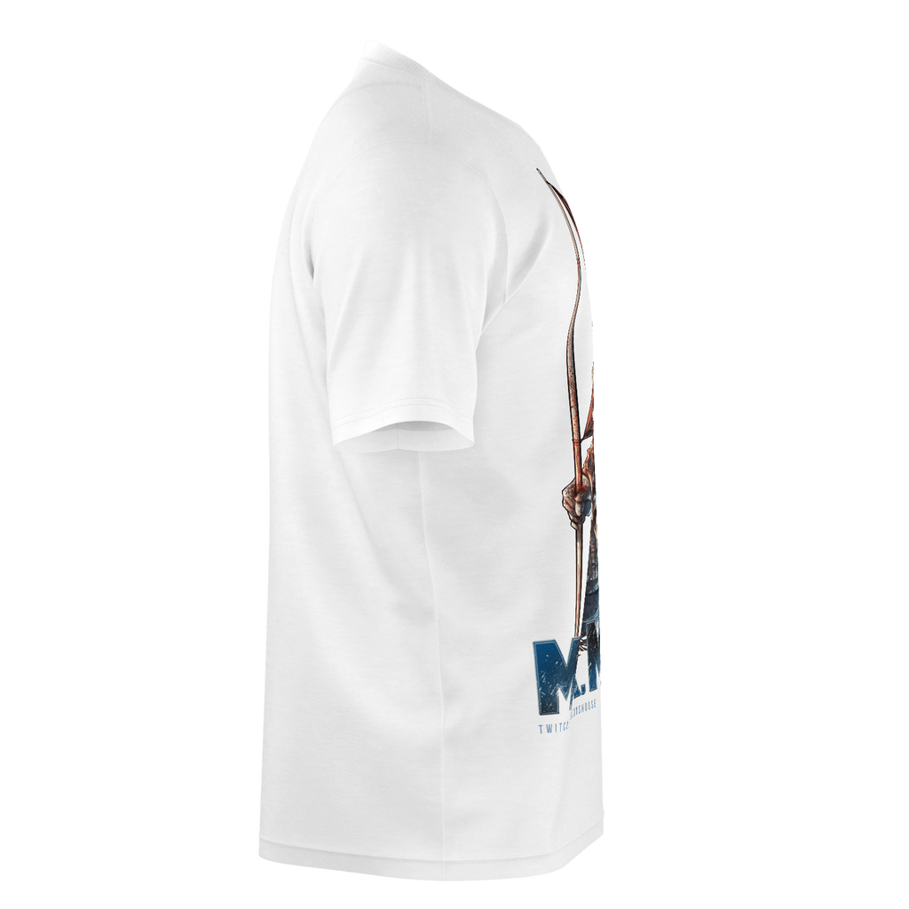 Mr. Moon - Flag White T-Shirt