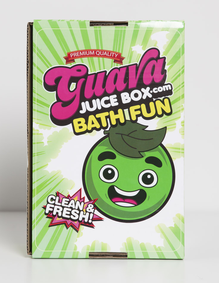 Guava Juice Box Bath Fun (One-Time)