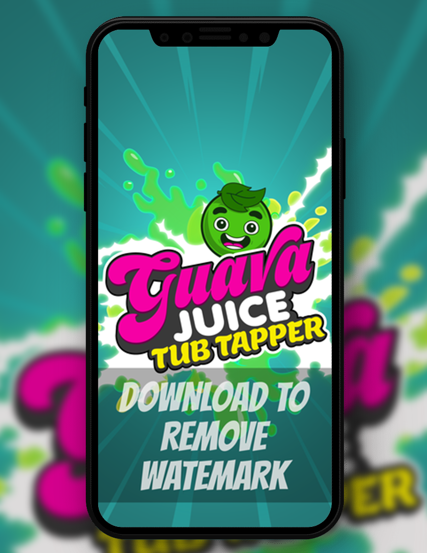 GJ Tub Tapper Logo Wallpaper