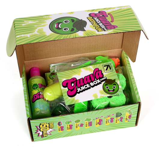 Gava Juice Toy : Guava juice box bath fun one time studio