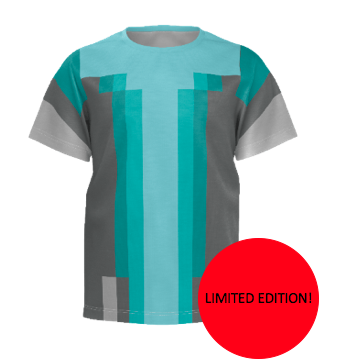 THINKNOODLES - LIMITED EDITION IN-GAME T-SHIRT (KID'S SIZE)