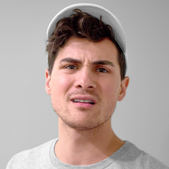 Anthony Padilla Dad Hat With Logo (White)