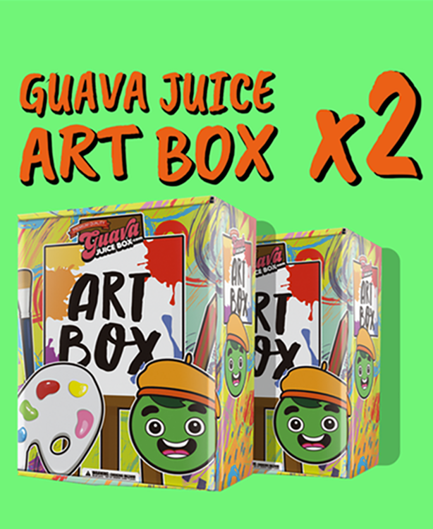 Guava Juice Art Box (Pack of 2)