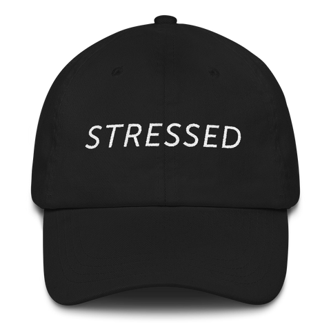 Beautychickee Stressed Dat Hat (Black)