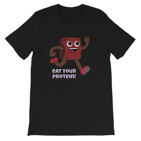 TRY Channel Eat Your Protein Short-Sleeve Unisex T-Shirt (Multiple Colors)