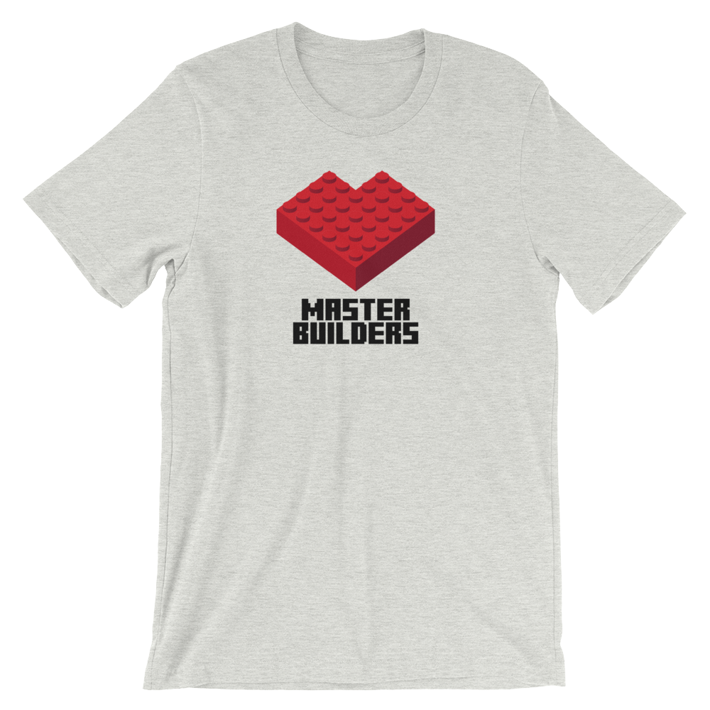 Master Builders Brick Heart T-Shirt