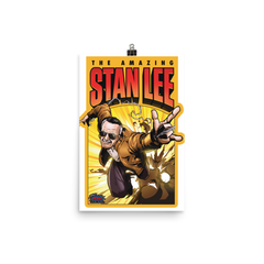 The Amazing Stan Lee Poster (Multiple Sizes)