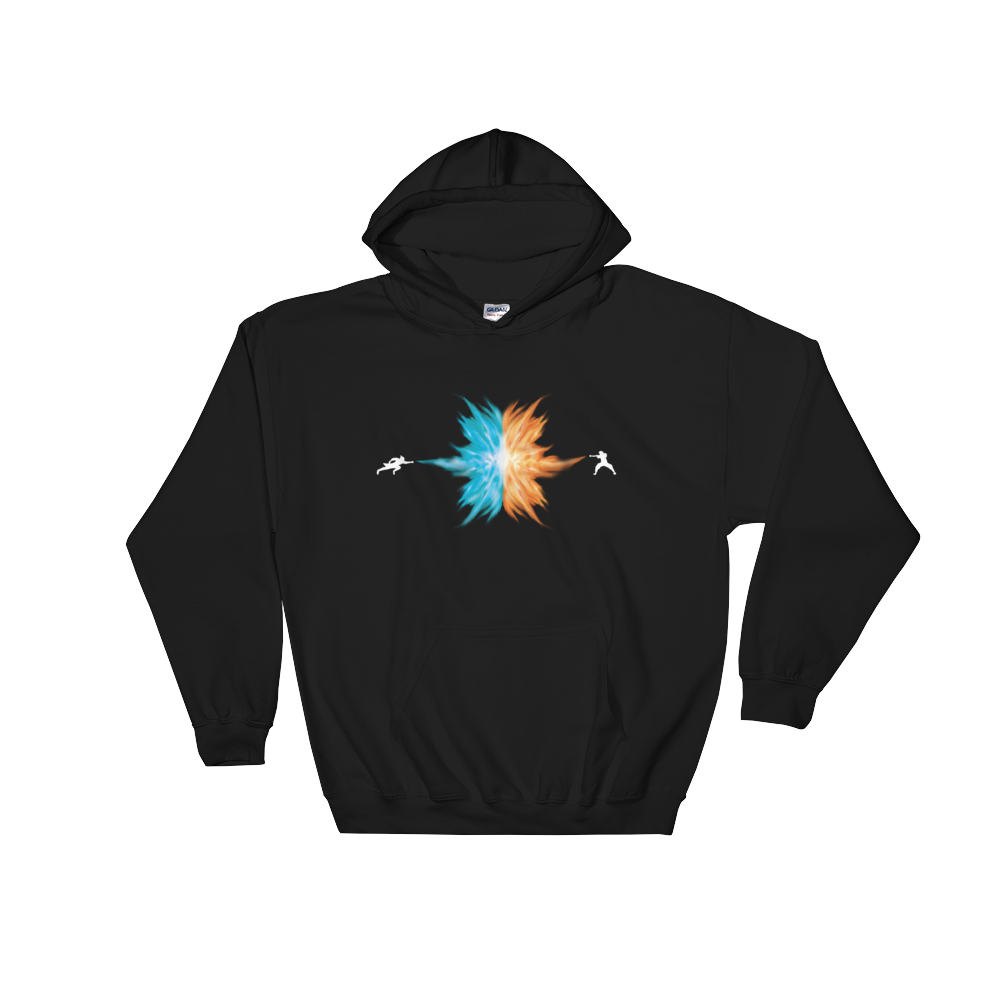 RE:Anime Agni Kai Hooded Sweatshirt