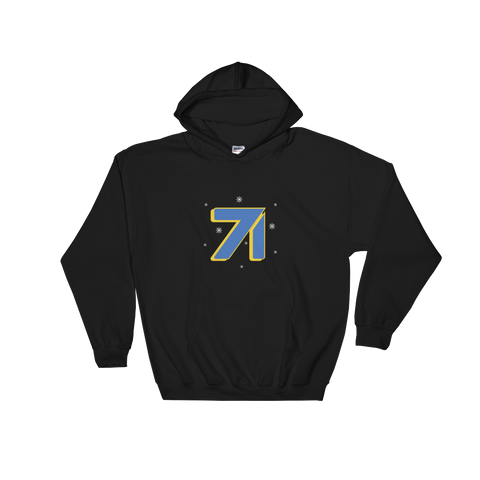 Studio71 Holiday Hooded Sweatshirt