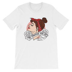 Cherry DollFace Pinup T-Shirt (Unisex)