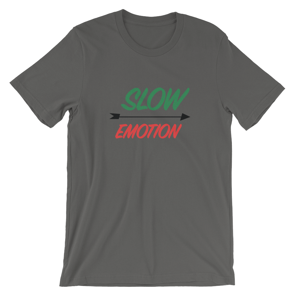 CeyNoLimit Slow Emotion Short-Sleeve Unisex T-Shirt (Multiple Colors)