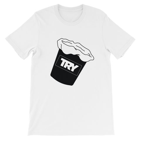 The TRY Channel Sick Bucket Short-Sleeve Unisex T-Shirt
