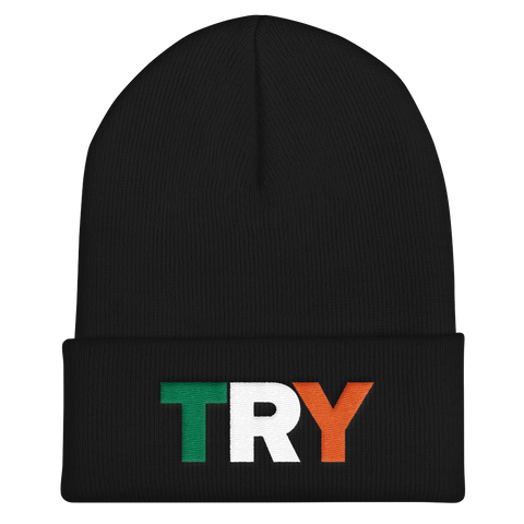 The TRY Channel Try Cuffed Beanie