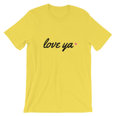 Love Ya Valentine's Day Short-Sleeve Unisex T-Shirt
