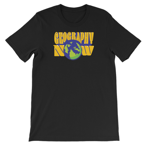 Geography Now Logo T-Shirt (Unisex)
