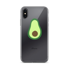 Candace Lowry Avocado iPhone Case
