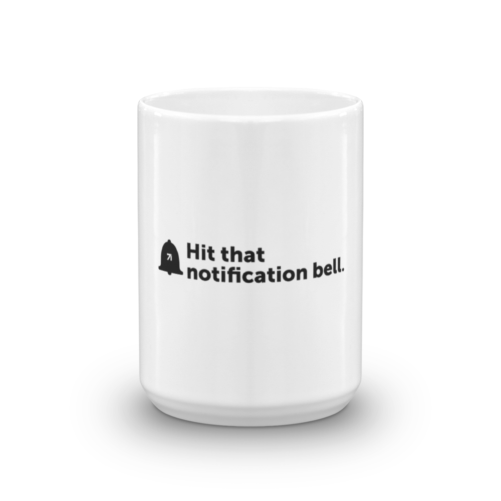 Studio71 Hit that bell Mug