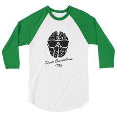 TRY Channel Brainshame 3/4 sleeve raglan shirt