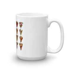 Weird Heat Twenty Slices of Pizza Mug