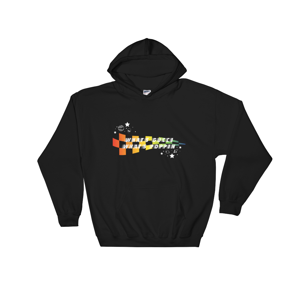 Kaeden Harveland What's Gucci What's Poppin Hooded Sweatshirt (Multiple Colors)