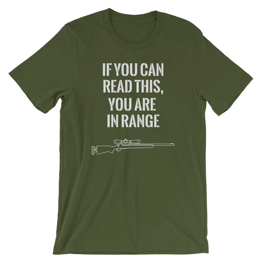 "Silo Entertainment ""In Range"" Unisex T-Shirt (Multiple Colors)"
