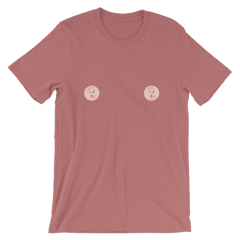 Emilia Fart Nipple Short-Sleeve Unisex T-Shirt