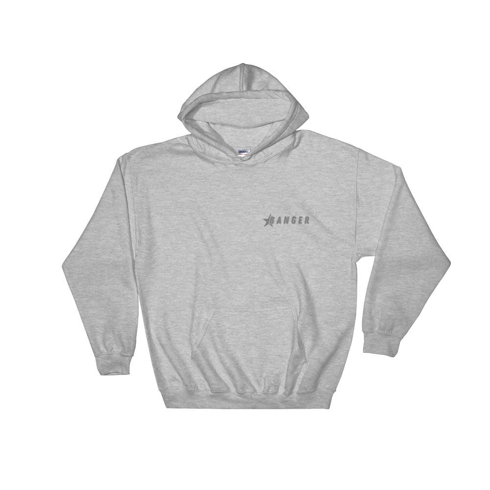 Jack Doherty Banger Grey Hooded Sweatshirt