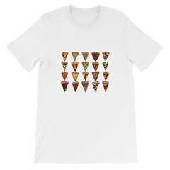 Weird Heat Twenty Slices of Pizza Short-Sleeve Unisex T-Shirt