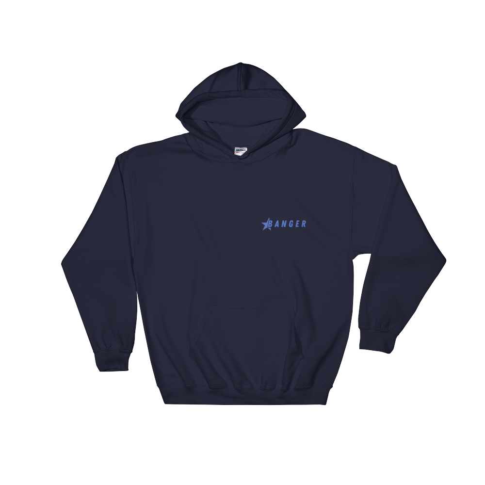 Jack Doherty Banger Navy Hooded Sweatshirt