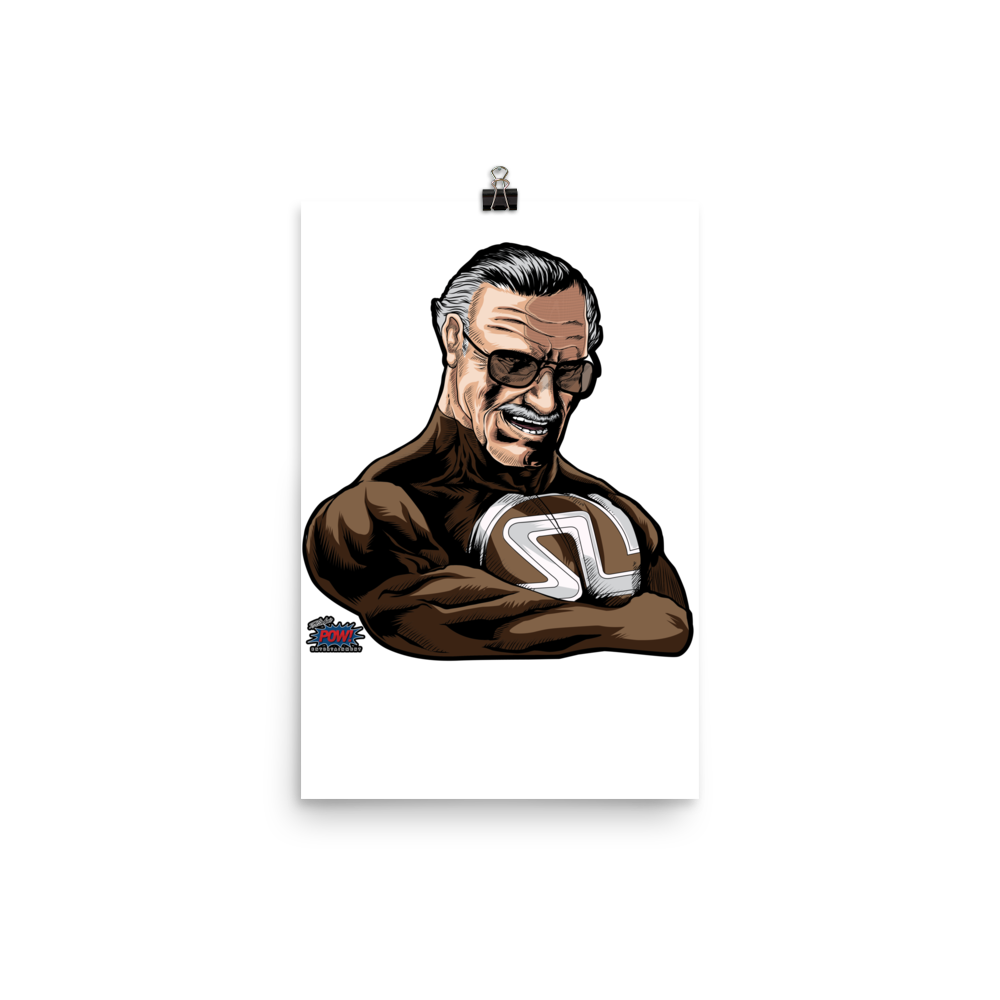 Super Stan Lee Poster (Multiple Sizes)